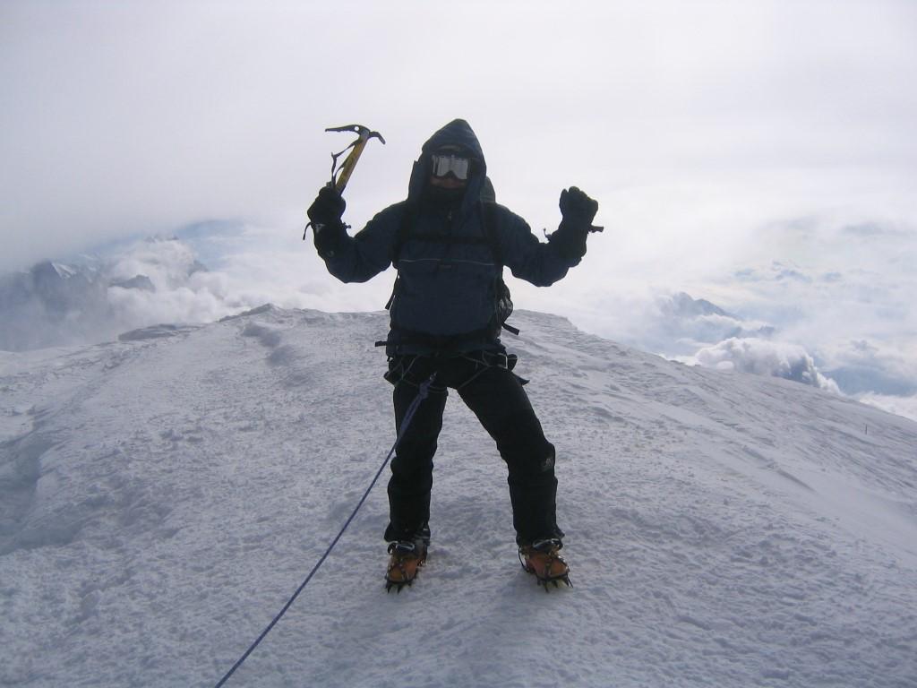 Summit Mont Blanc
