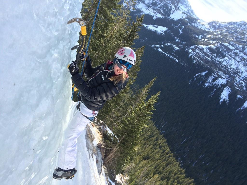 Intro to ice climbing