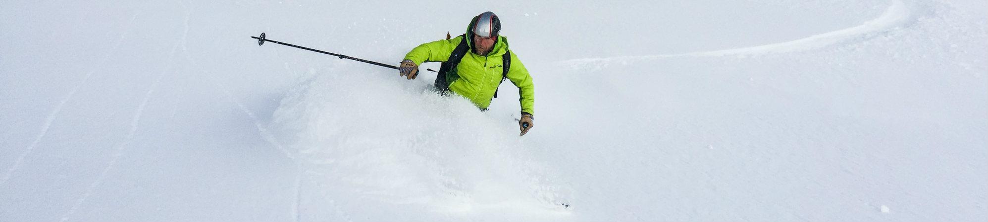 skiing with Jeff Witt