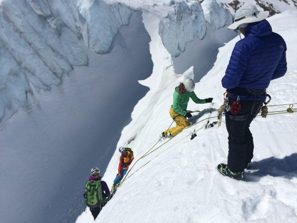 Glacier travel