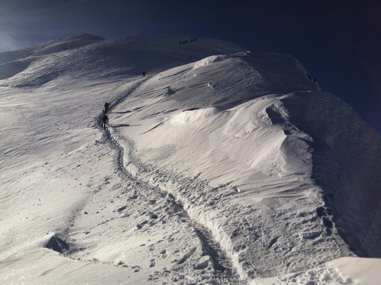 Royal Arete of Mont Blanc, Arete du Gouter