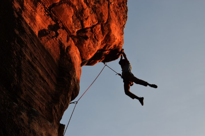 partner rescue climbing