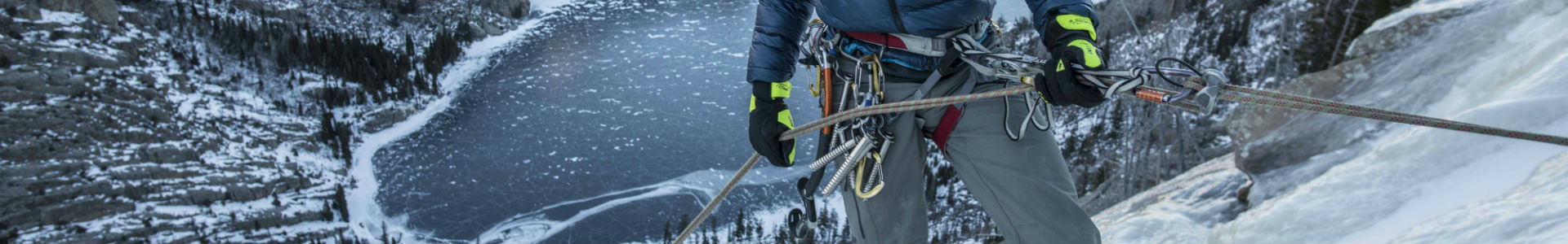 Ice climbing Jackson