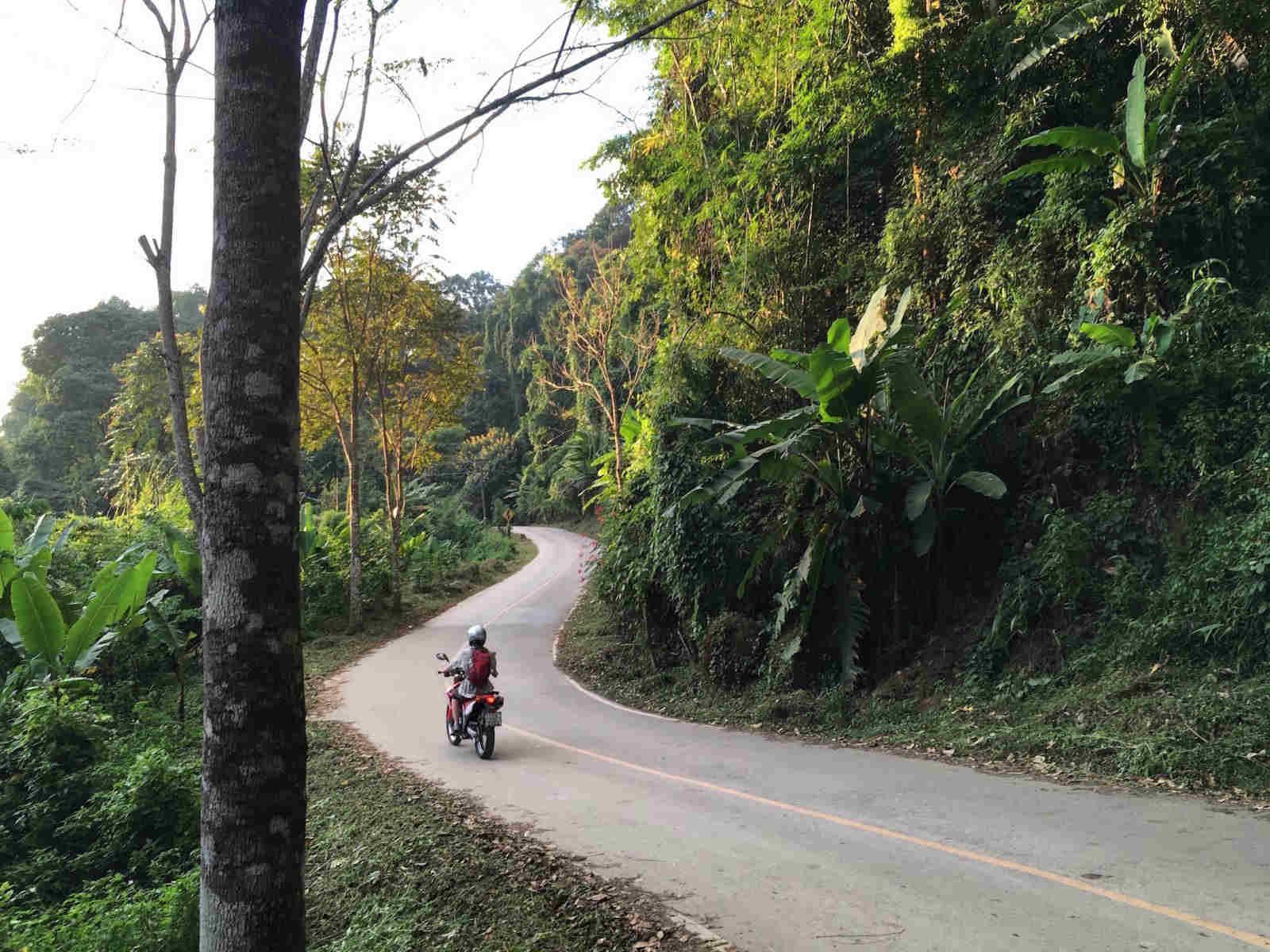 Explorations on motorbikes