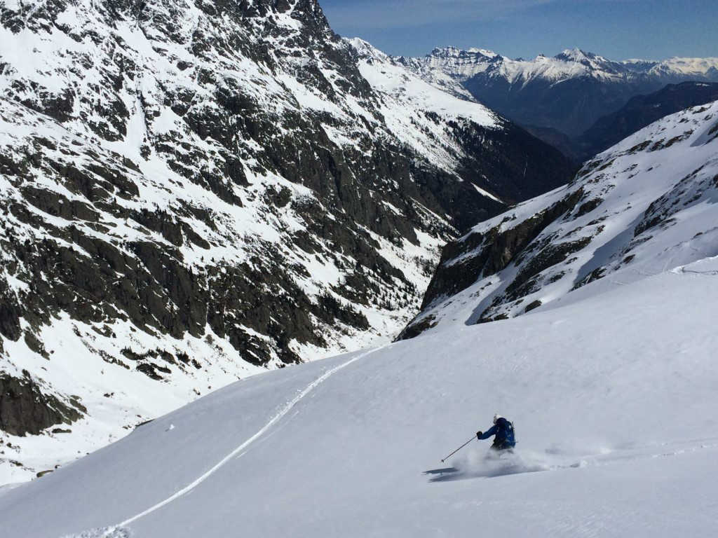 Ski Touring in the Aiguilles Rouges