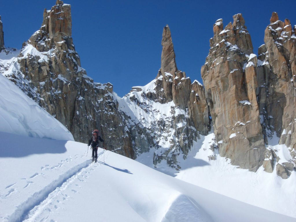Ski Touring in the Mont Blanc Massif